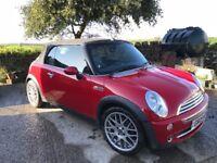 Mini Cooper Convertible 1.6 62,000 miles