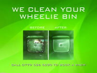 We clean your wheelie bin from JUST £3.00 for a regular monthly clean