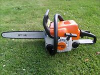 Stihl 017 chainsaw