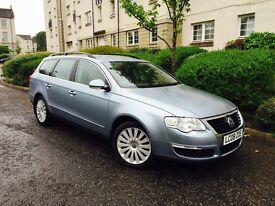 VOLKSWAGEN PASSAT 1.9TDI HIGHLINE TOP OF THE RANGE AUX FULL LEATHER 7 STAMPS FULL SERVICE HISTORY
