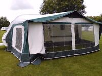 BRADCOT CARAVAN AWNING WITH ANNEXE