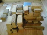 Faux Cotswold stone bricks - recycled