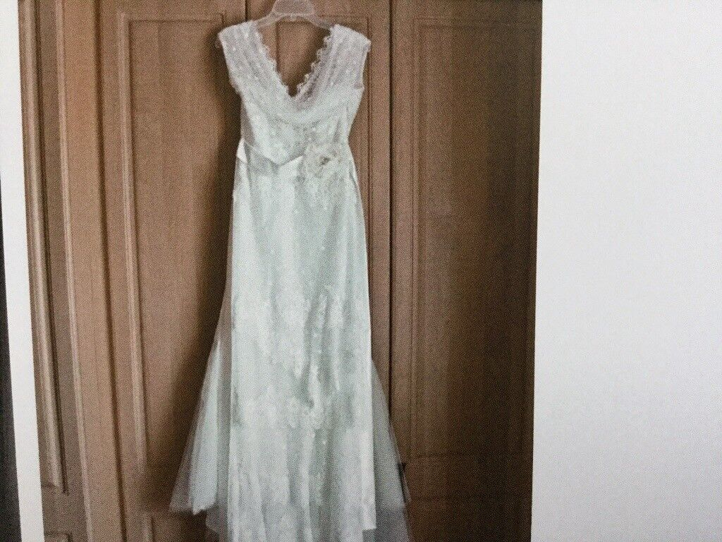 Vintage style French designer wedding dress size 12 was 3,000 | in ...