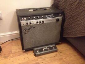 Fender princeton recording amp 15W with power attenuator