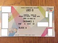 Sold - Louis ck stand up comedy show in Dublin, 15 Aug 2016