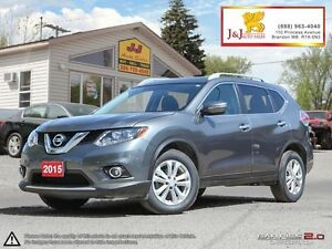 2015 Nissan Rogue SV AWD,B.Camera,Bluetooth