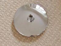 Triton Capella / Alice Fixed Overhead Shower Head / Showerhead Chrome Bathroom Fixtures