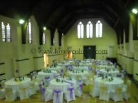 Chair Cover Hire, Table Linen Hire, Wedding/Events Decorations, Wedding Sofa Hire at Great Prices