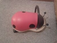 Wheely Bug Ladybird Ride On Toy - small (age 1-3 years)