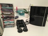 Playstation 3 (PS2 compatible!) - 3 controllers - 24 games