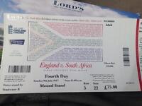 Eng v SA ticket TODAY!!