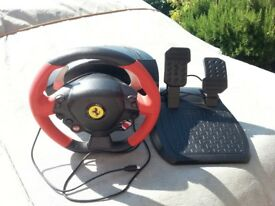 X box one Ferrari Steering Wheel Gamer
