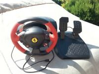 X box one Ferrari Steering Wheel Gamer