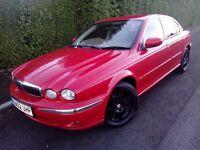 Jaguar X-type 2.0 V6 Gloss Red 6 Months Mot Low mileage 99k Excellent Condition FSH.
