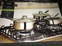 3 saucepans / pan set