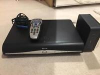 Sky+HD box with Remote and Wireless Router