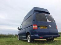 VW T5 Transporter Camper, 4 berth, full width Cannons forge bed, Smev 9222, FSH