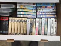 Various VHS video tapes