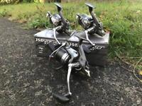3 x daiwa Windcast x reels carp fishing