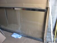 Glass panel with thick glass. Never used.
