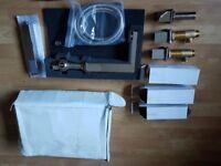 Hudson Reed Kubix 4 Tap Hole Bath Mixer Tap And Shower PA324