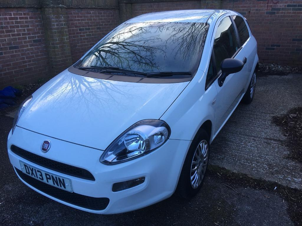 2013 plate,Very economical Fiat Punto with long MOT,ideal first car ...