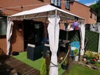 garden paracel canopy