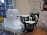 Good Condition 3 Speed Bajaj Mixer with 3 set of blender jar for Juice, Spice and Food grinding.