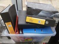 Folders and Polly pockets
