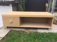 TV Stand Unit with Storage Drawer
