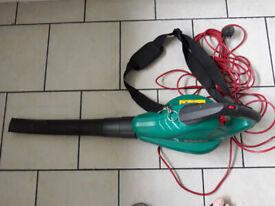 BOSCH ALS 25 Garden Vacuum / Leaf Blower with Debris Collection Bag