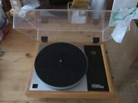 Linn LP12 Turntable Non Linn Solid Wood Plinth Top Plate and Lid NO OFFERS