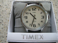 WRIST WATCH TIMEX WITH LARGE INDIGLO FACE