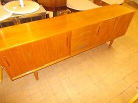 Varnished wooden Side board