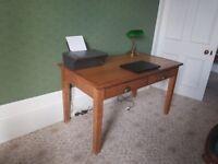 Old study desk