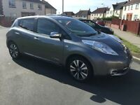 Nissan leaf full electric with extras owned Battery