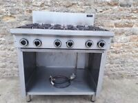 Cobra 6 burner L.P.G Hob Unit.