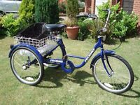 Adults Three wheel Probike,used Twice Now Reduced