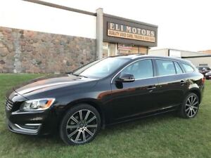 2015 Volvo V60 T6 Premier Plus.AWD/LEATHER/SUNROOF/REAR VIEW CAM