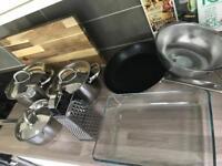 Cookware (pan, pots etc)