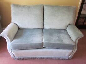 Quality Bridgecraft Two Seater Sofa and Matching Armchair
