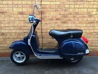 Piaggio VESPA PX 125 Touring Scooter 125cc *SHOWROOM CONDITION & FSH*
