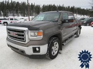 2015 GMC Sierra 1500 SLT 4WD Crew Cab, Power Sun Roof, Low KMs