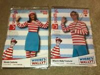 Woman's and Men Where's Wally Fancy Dress Costumes