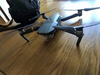Mavic pro drone with fly more bundle