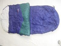 SLEEPLINE 250 MUMMY SLEEPING BAG - GOOD CONDITION, HARDLY USED WITH CARRYING BAG