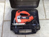 Black and decker electric jig saw
