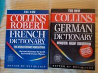BOOKS/ COURSE/ CD: LANGUAGES, SPANISH, FRENCH, GERMAN, DICTIONARY