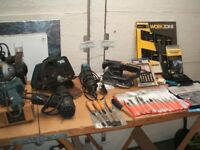 HAND AND POWER TOOLS PLUS CONSUMABLES
