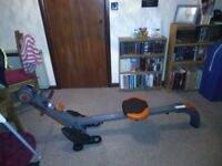 Barely used home rowing machine